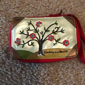 Natural life wallet/clutch